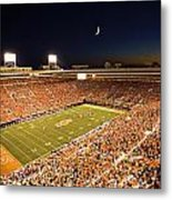 Oklahoma State Boone Pickens Stadium Under The Lights Metal Print by Oklahoma State University