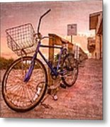 Ol' Bike Metal Print