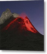 Ol Doinyo Lengai Eruption, Rift Valley Metal Print
