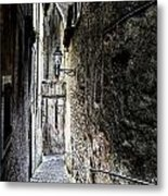 old alley in Italy Metal Print