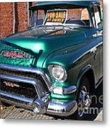 Old American Gmc Truck . 7d10665 Metal Print