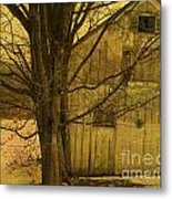 Old And Crooked Metal Print
