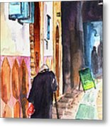 Old And Lonely In Morocco 03 Metal Print