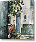 Old And Lonely In Spain 08 Metal Print