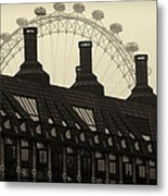 Old And New London Metal Print