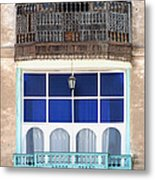 Old And New With Same View Metal Print