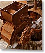 Old Apple Press 2 Metal Print