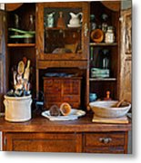 Old Bakers Cabinet Metal Print