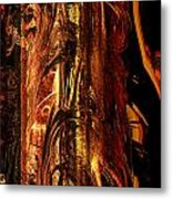 Old Bark Metal Print