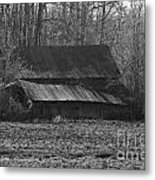 Old Barn Out Back Metal Print