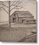 Old Barn2 Metal Print