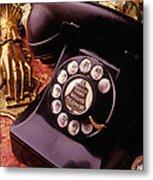 Old Bell Telephone Metal Print