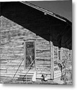 Old Belle Mina Railroad Station Metal Print
