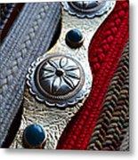 Old Belts Metal Print