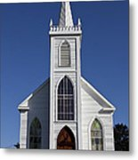 Old Bodega Church Metal Print