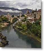 Old Bridge Of Mostar Metal Print by Ayhan Altun