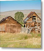 Old Building Woodruff Utah Metal Print