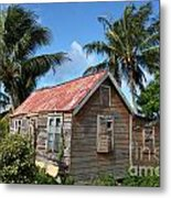 Old Chattel House 2 Metal Print