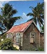 Old Chattel House Metal Print by Barbara Marcus
