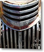 Old Chevrolet - 5d16443 Metal Print by Wingsdomain Art and Photography