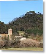 Old Church Near Montelupo Metal Print
