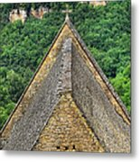 Old Church View Dordogne France Metal Print