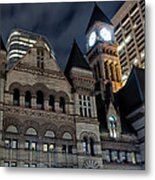 Old City Hall Metal Print by Luba Citrin