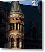 Old City Hall Turret Metal Print by Matt  Trimble