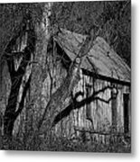 Old Clark Homestead Lost Valley Metal Print