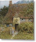 Old Cottage Witley Metal Print