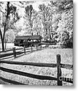 Old Country Saw-mill Metal Print