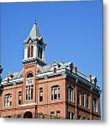 Old Courthouse Powhatan Arkansas 1 Metal Print