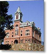 Old Courthouse Powhatten Metal Print