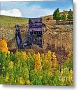 Old Cripple Creek Mine Metal Print