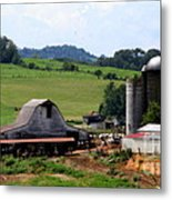 Old Dairy Barn Metal Print