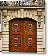 Old Doors Metal Print