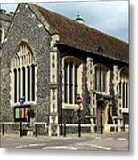 Old English Church Uxbridge Uk Metal Print