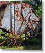 Old Farm Machine Metal Print