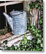 Old Fashioined Sprinkling Can 1 Metal Print