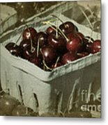 Old Fashioned Cherries Metal Print