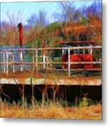 Old Ferry On The Cumberland Metal Print
