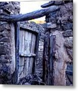 Old Finca Ancient Hause In The Spanish  Mountains Metal Print