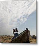 Old Fishing Boats Metal Print