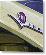Old Ford Pick-up Metal Print
