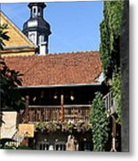 Old Franconian House Metal Print