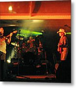 Old Friends Band Reunion Metal Print