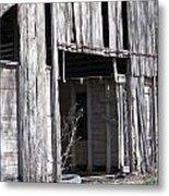 Old Frisco Barn Metal Print