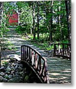 Old Grainery At Henry Park Metal Print