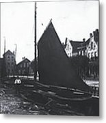 Old Harbor 1880 Metal Print