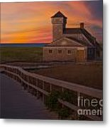 Old Harbor U.s. Life Saving Station Metal Print by Susan Candelario